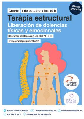 Formación terapia estructural en Irún, Octubre 2021
